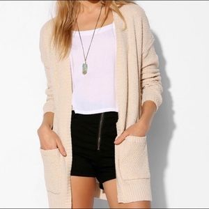 Urban Outfitters Cream Cardigan BDG S